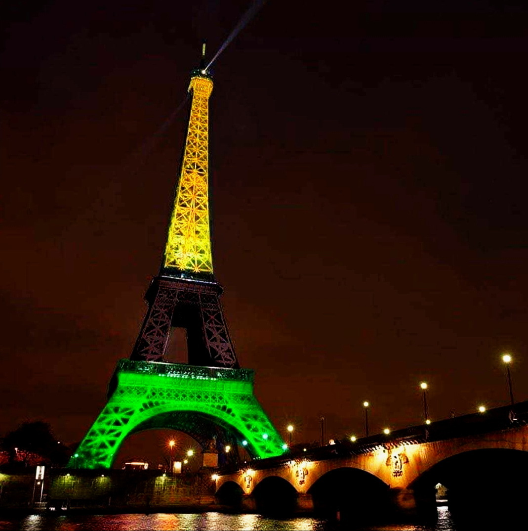 Eiffel Tower Celebrates Reggae Girlz