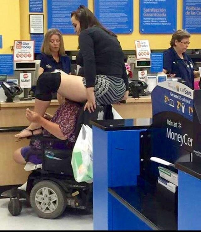The shit that only happens at Walmart