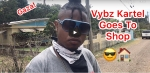 Famous Jamaican Artiste Vybz Kartel Goes To Shop