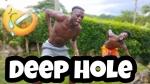 Jamaican Comedian Drops in a Deep Hole