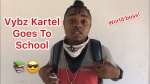 Dancehall artist Vybz kartel Goes To school