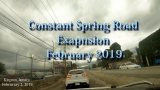 Constant Spring Road Expansion