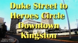 Duke Street to Heroes Circle  Downtown Kingston Jamaica