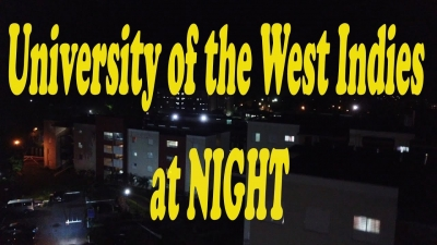 University of West Indies Jamaica at Night