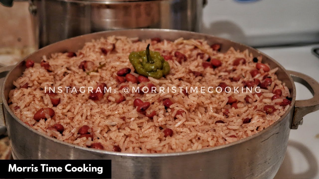 LEARN TO COOK JAMAICAN RICE & PEAS
