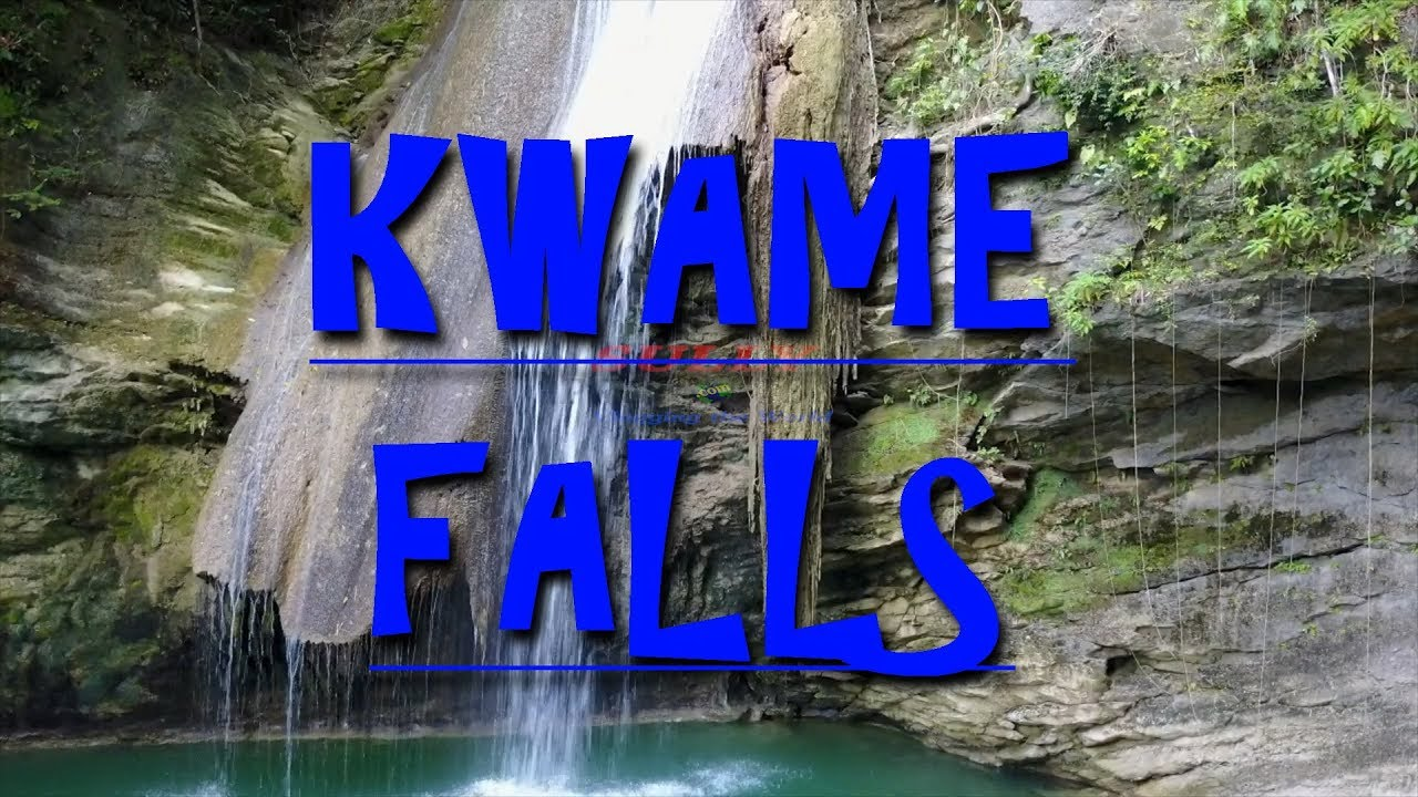 Kwame Water Falls St Mary Jamaica