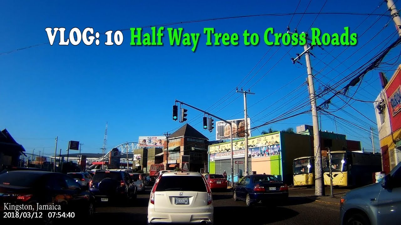 Half Way Tree to Cross Roads, Kingston