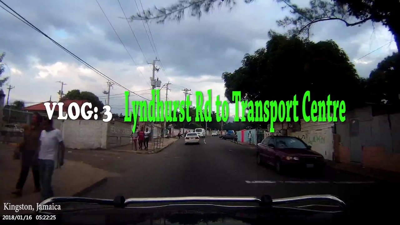 Lyndhurst road in Jamaica