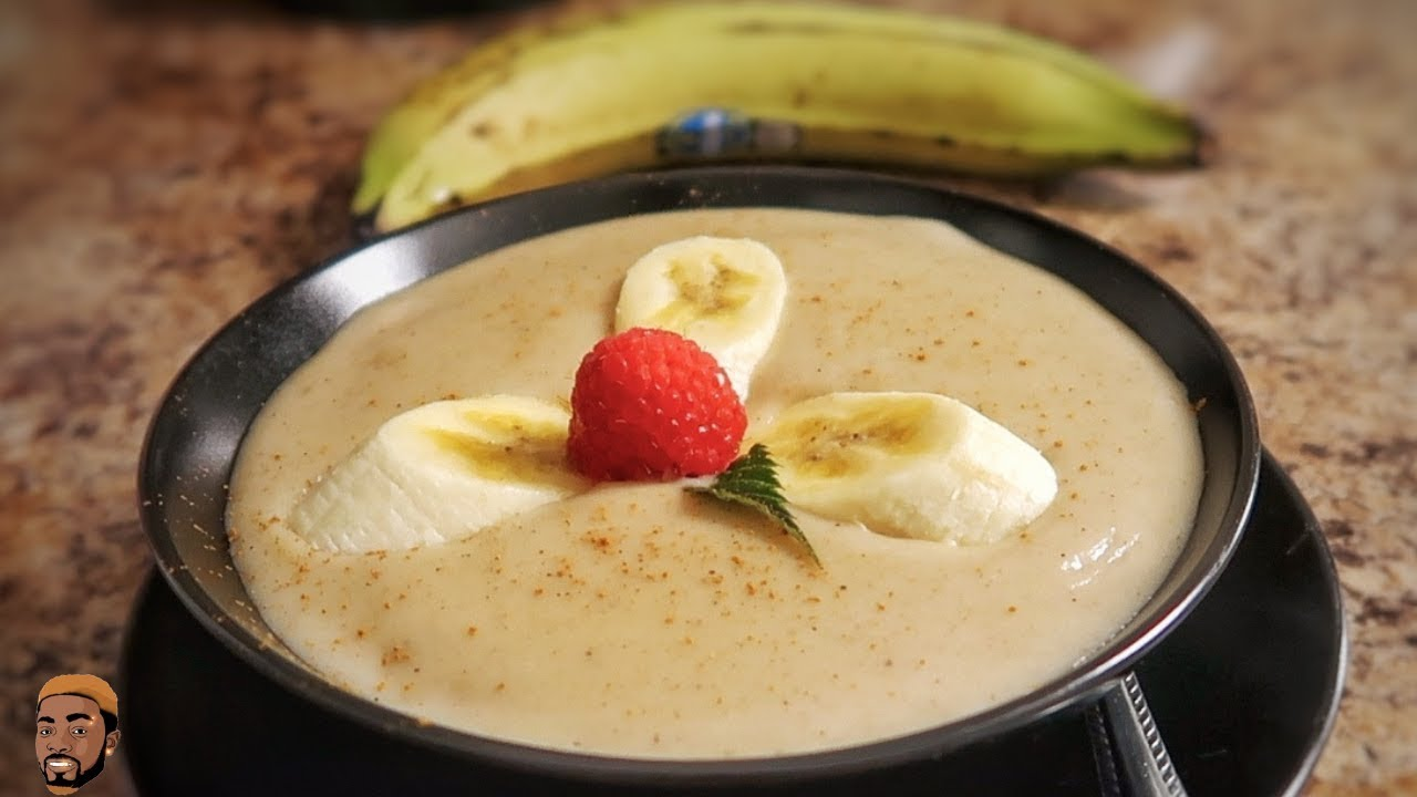 JAMAICAN PLANTAIN PORRIDGE RECIPE
