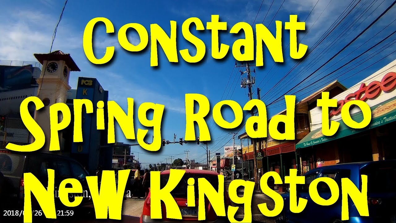 Constant Spring Road to New Kingston