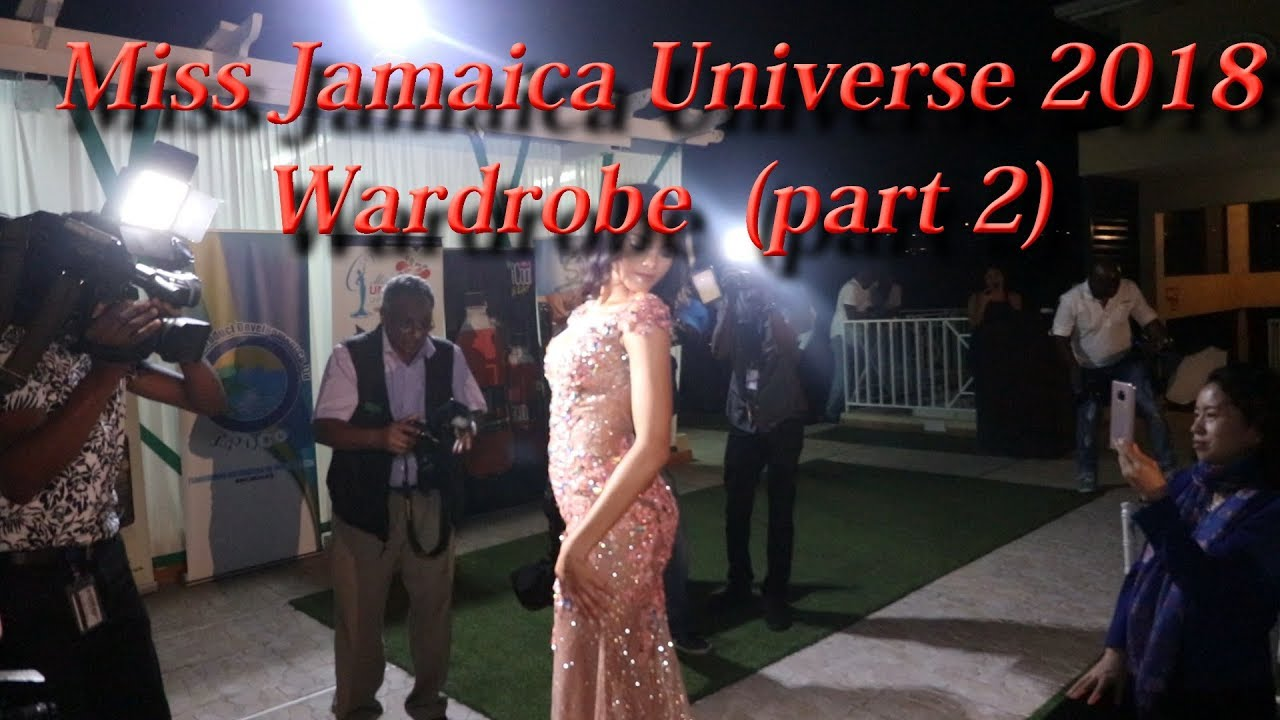 Miss Jamaica Universe Beauty Contest (part 2), Miss Universe Contest