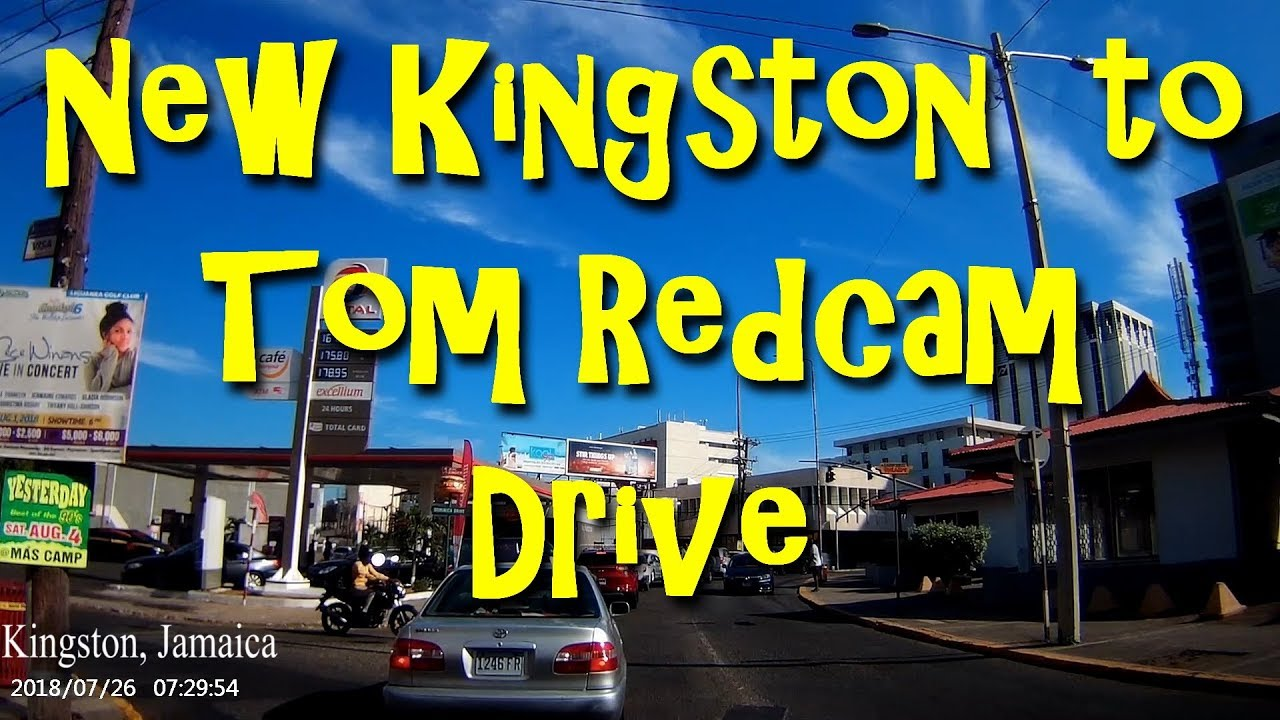 New Kingston to Tom Redcam Drive