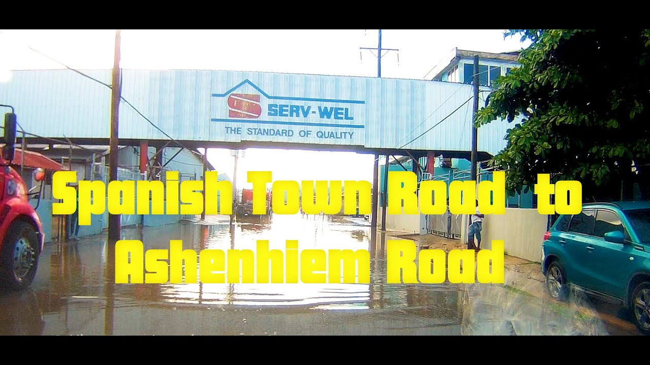 Spanish Town Road  to Ashenhiem Road