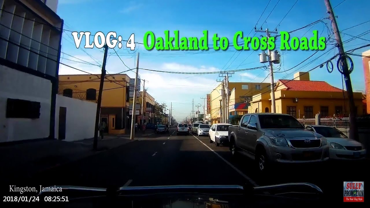 Oakland to Cross Roads, Kingston, Jamaica