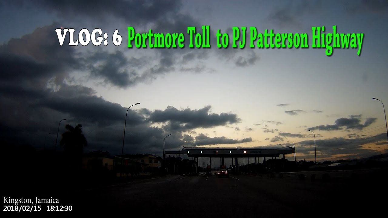 Portmore Toll to Pj Patterson Highway