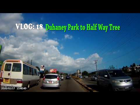Duhaney Park to Half Way Tree, kingston