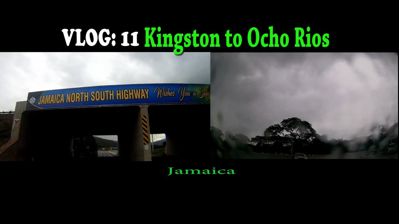 Kingston to Ocho Rios, Rain