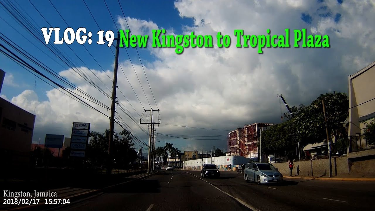New Kingston to Tropical Plaza, kingston