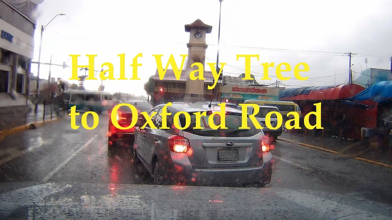 Half Way Tree to Oxford Road | storm weather