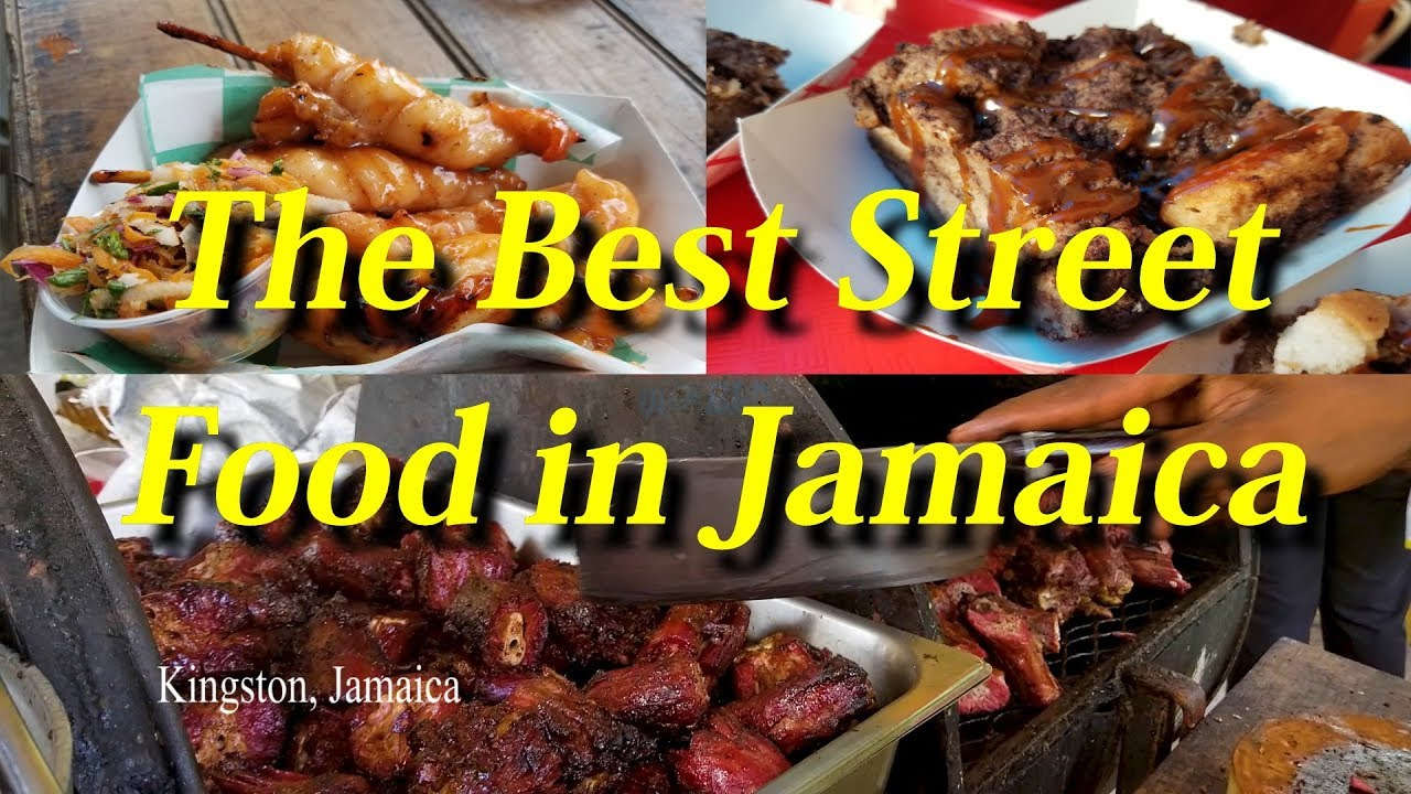 The Best Street Food in KINGSTON JAMAICA