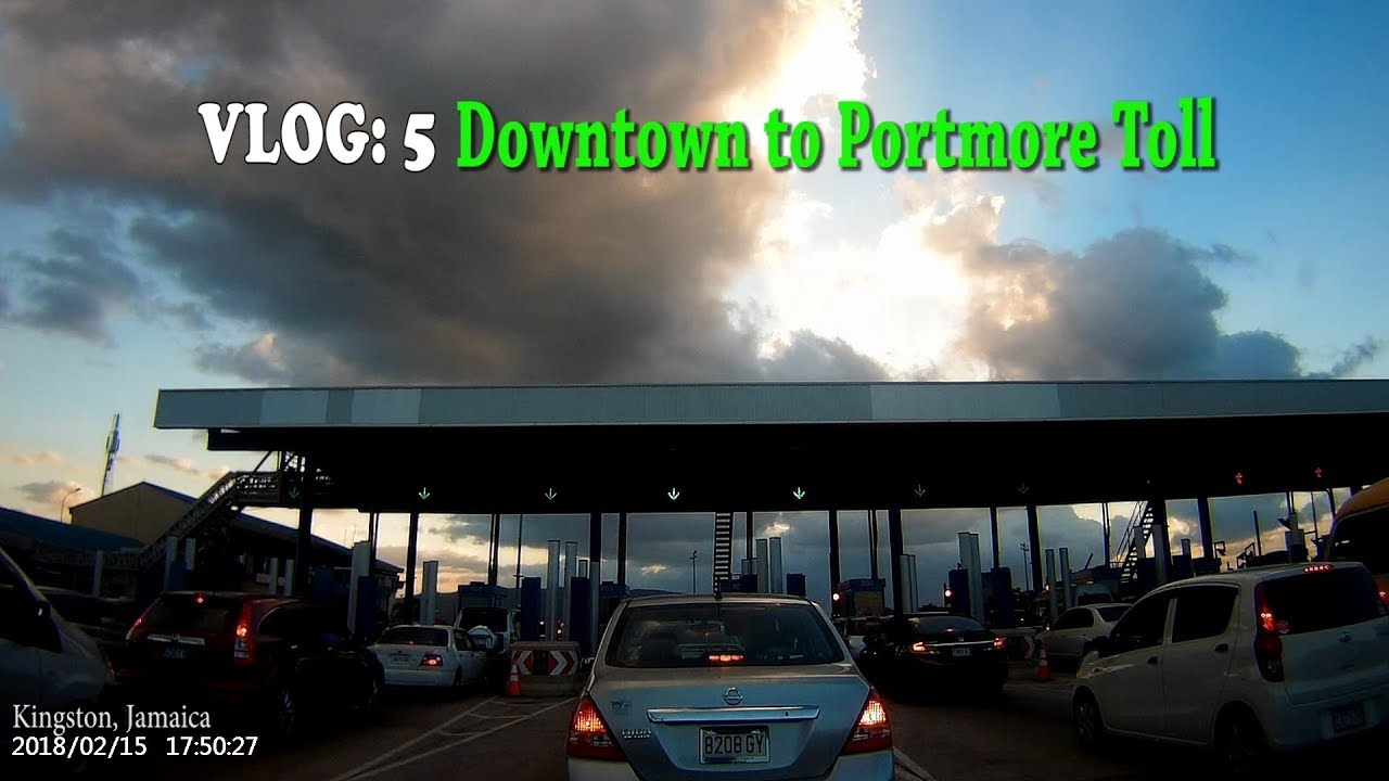 Downtown to Portmore Toll Kingston, Jamaica